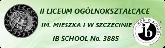 Logo II LO im. Mieszka I w Szczecinie